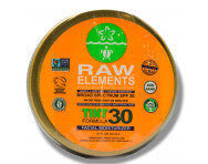 Raw elements tin-SPF
