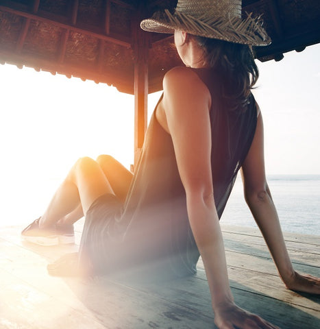 summer skin care tip for smooth arm and leg skin