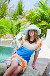 Wear a hat for sun protection!