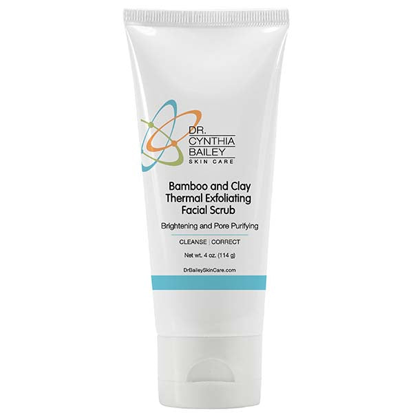 Bamboo and Clay Thermal Exfoliating Facial Scrub™