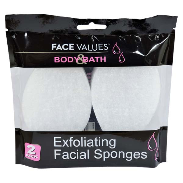 Exfoliating Facial Sponge 2 Pack