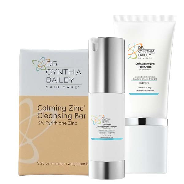 Facial Flaking and Redness Solution Kit