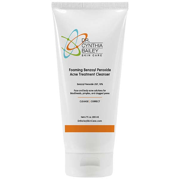 Foaming Benzoyl Peroxide Acne Treatment Cleanser™