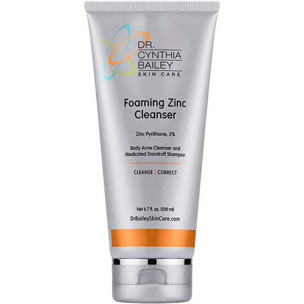 Foaming Zinc Cleanser is better than Noble Formula Zinc for tinea versicolor