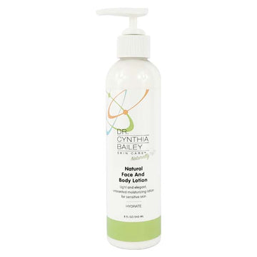 Natural Face, Hand and Body Lotion