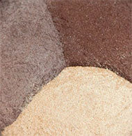 Bronze Trio: Soft gold, taupe, neutral brown.