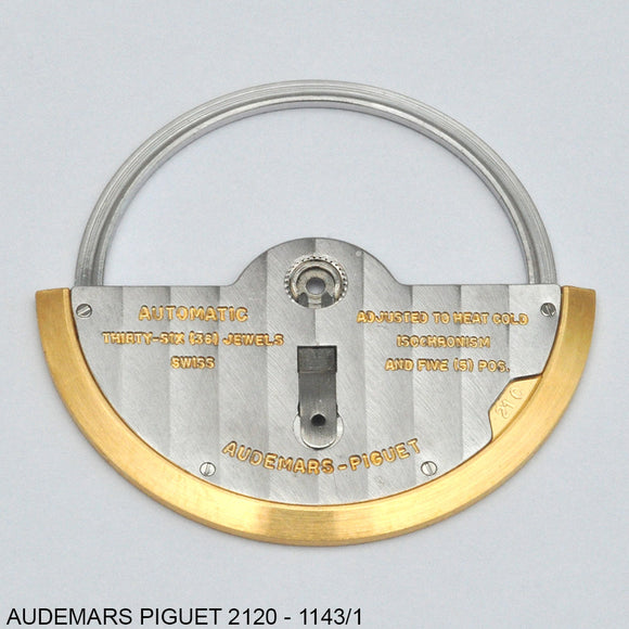 Audemars Piguet 2120-1143/1, Oscillating weight
