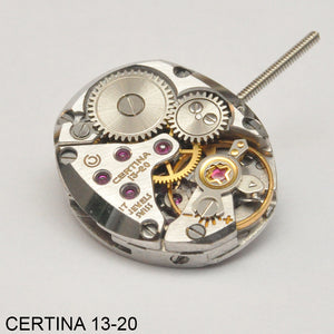 Certina 13-20, Complete movement