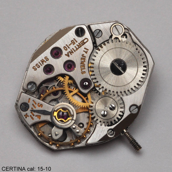 Certina 15-10, Complete movement