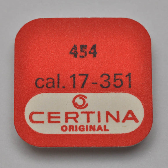 Certina 17-351, Swing-lever for ratchet winding wheel, no: 454