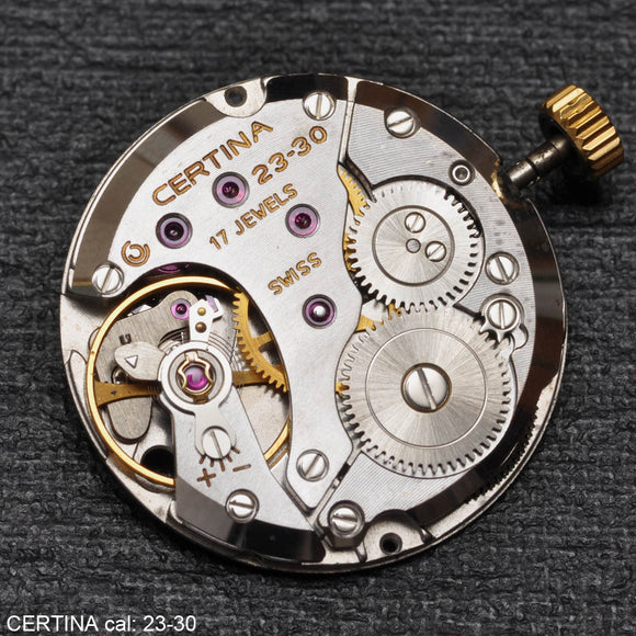 Certina 23-30, Complete movement