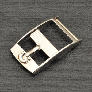Clasp, Omega, steel, 14 mm