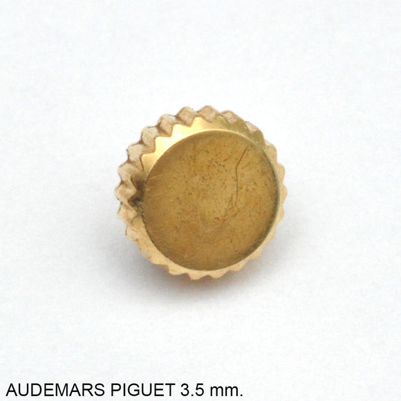 Crown, Audemars Piguet, gold, D=3.4 mm.