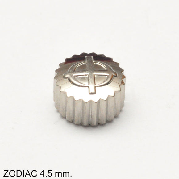 Crown, ZODIAC, steel, D=4.5 mm.