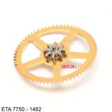 ETA 7750-1482, Driving gear for ratchet wheel