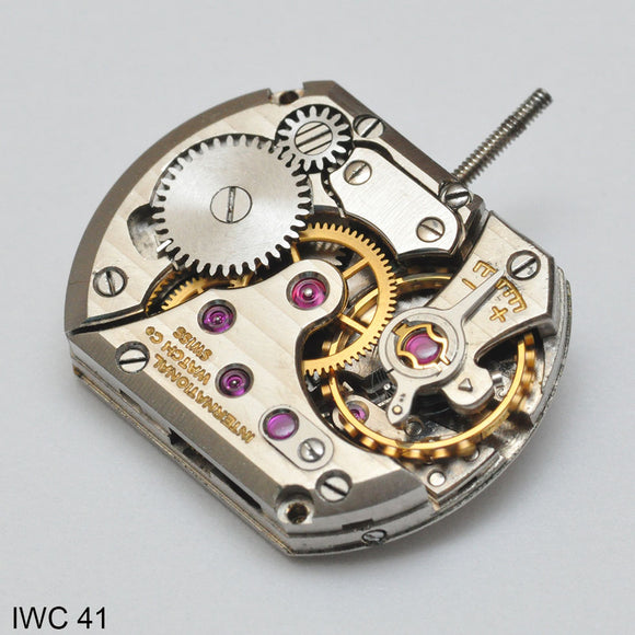 IWC 41, Complete movement