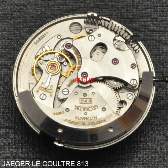 Jaeger le Coultre 813, Complete movement