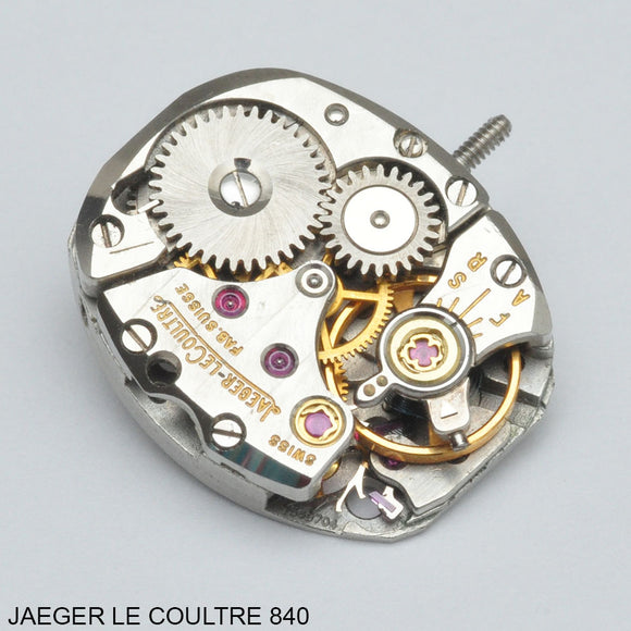 Jaeger le Coultre 840, Complete movement