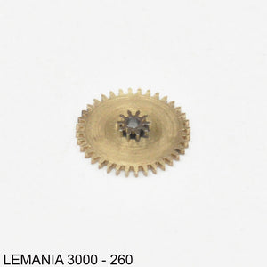 Lemania 3000-260, Minute wheel