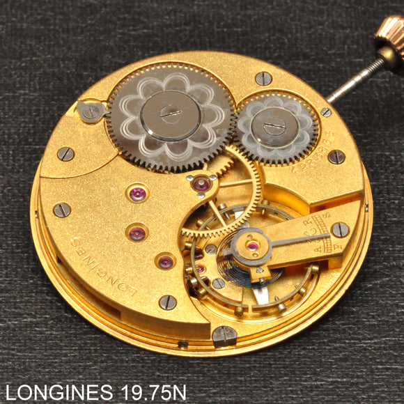 Longines 19.75N, Complete movement