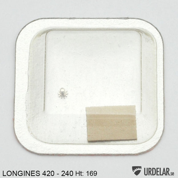 Longines 420, Cannon pinion, no: 240 Ht: 169