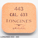 Longines 633, Setting lever, no: 443