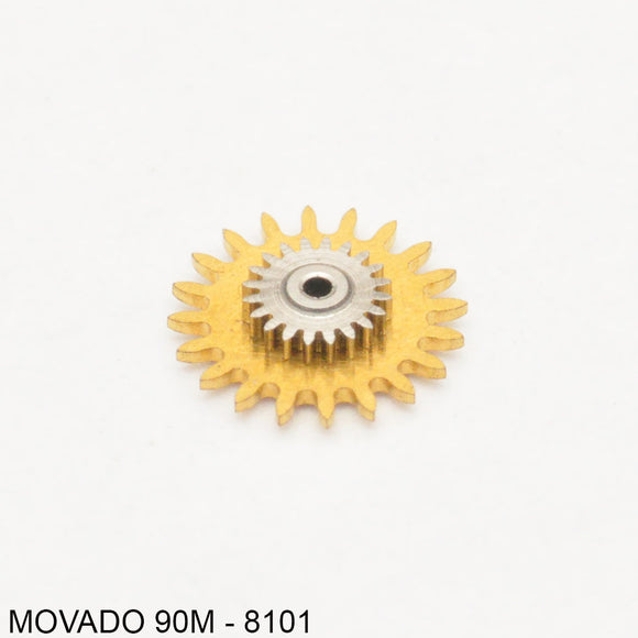 Movado 90M, Intermittent wheel, no: 8101