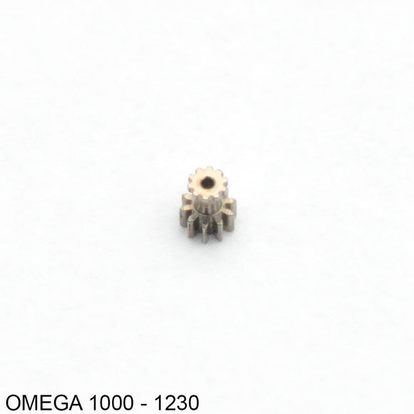 Omega 1000, 1001, 1002, Cannon pinion for third wheel, no: 1230