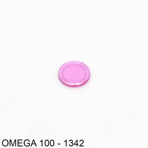 Omega 410-1342, Cap jewel for balance, lower