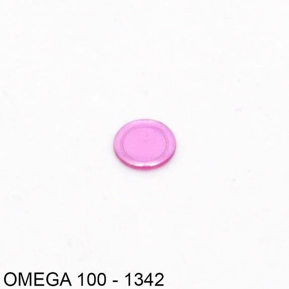 Omega 244-1342, Cap jewel for balance, lower