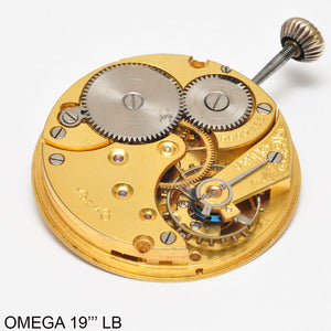 Omega 19 LB, Complete movement