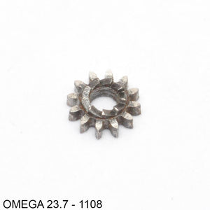 Omega 23.7-1108, Winding pinion