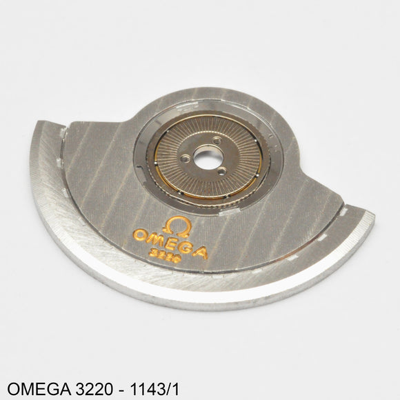 Omega 3220-1143/1, Oscillating weight