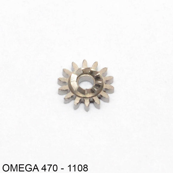 Omega 500-1108, Winding pinion