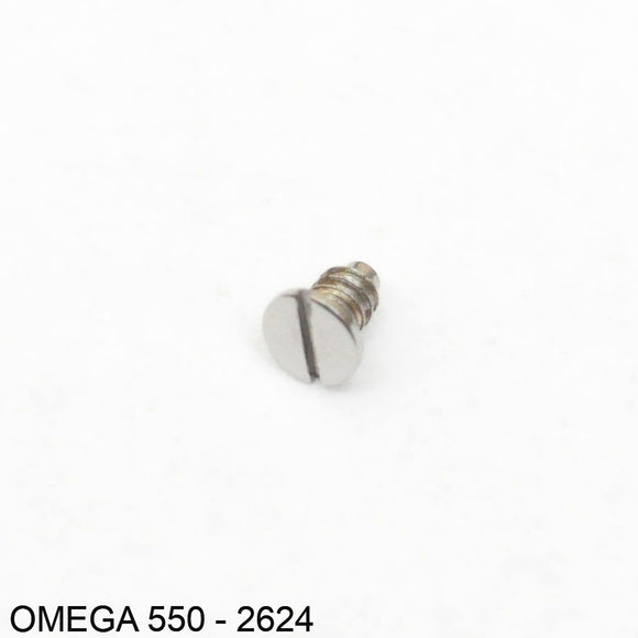Omega 550-2624, Screw for setting lever spring