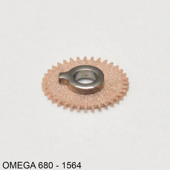 Omega 680-1564, Date indicator driving wheel