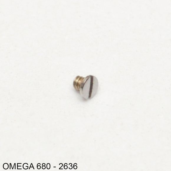 Omega 680-2636, Screw for: pressure bridle of date disc