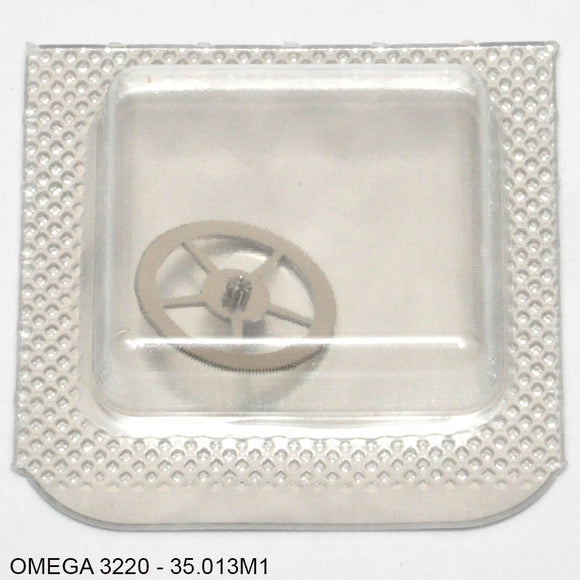 Omega 3220, Minute counter driving wheel, no: 35.013M1