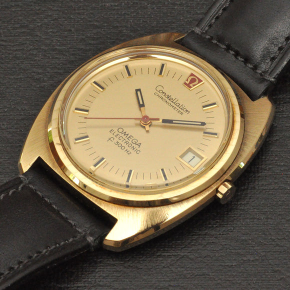 Omega Constellation 300Hz Chronometer in 18K, ref: 198.002