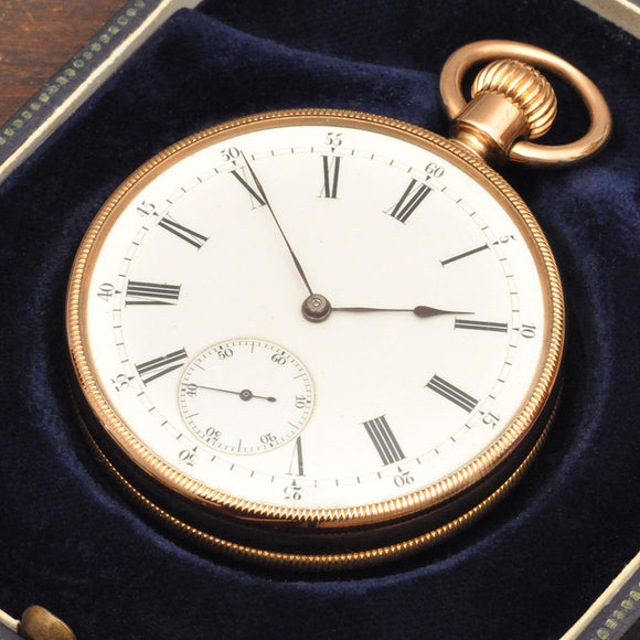 Patek Philippe 18K pocket watch from 1873