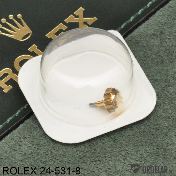 ROLEX 24-531-8, Crown, 18K yellow gold