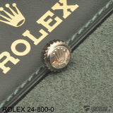ROLEX 24-800-0, Crown, steel, NOS