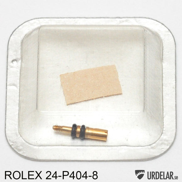 ROLEX 24-P404-8, Screw 18K gold for pusher