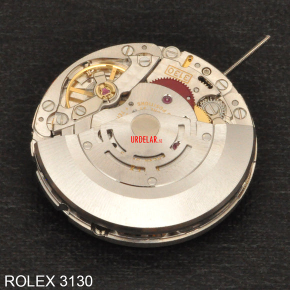 Rolex 3130, Complete movement