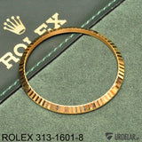 ROLEX 313-1601-8, Bezel in 18K yellow gold for ref: 1601