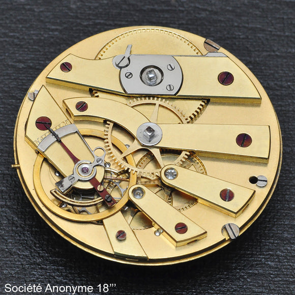 Anonymous, Ruby Cylinder movement