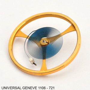 Universal Geneve 1106-721, Balance, complete