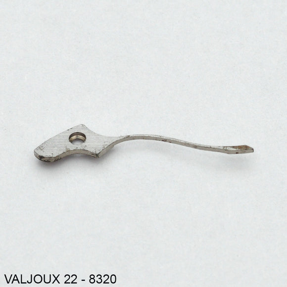Valjoux 22, 71, 84, Coupling clutch spring no: 8320