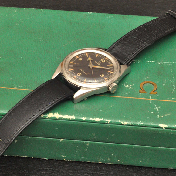 Omega Railmaster with box and extract, ref: 2914-1 SC