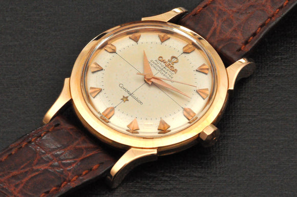 Omega Constellation NOS, ref: 2852/2853 in 18K Rose gold